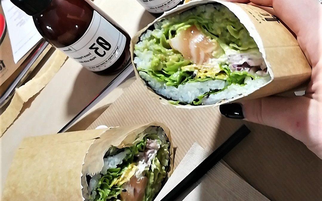 Sushi-burritos : Le mélange de la cuisine japonaise et espagnole